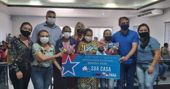 "Entrega  de benefícios da 2° etapa do programa ""SUA CASA"""